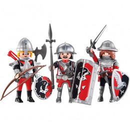 Playmobil 6381 Figurki - Rycerze herbu Sokół