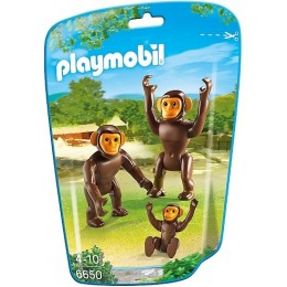 Playmobil City Life 6650 Szympansy