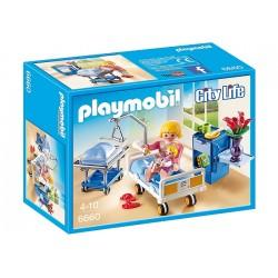 Playmobil 6660 Szpital Sala Chorych z Łóżkiem dla Niemowlaka