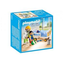 Playmobil 6661 Szpital Lekarka Przy Łóżku Chorego Pacjenta