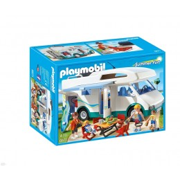 Playmobil Summer Fun 6671 Rodzinne auto kempingowe
