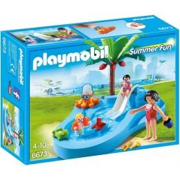 Playmobil 6673 Dziecięcy basenik ze zjeżdżalnią