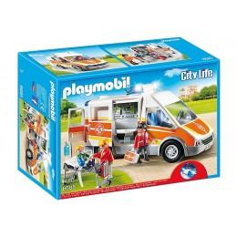 Playmobil 6685 Szpital Karetka Pogotowia ze Światłem i Dźwiękiem