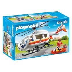 Playmobil 6686 Szpital Śmigłowiec Ratunkowy