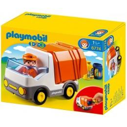 Playmobil Klocki 1-2-3 6774 Śmieciarka