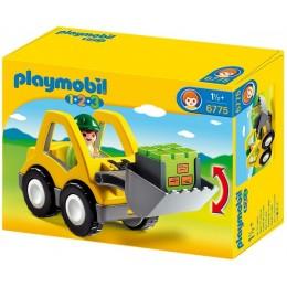 Playmobil Klocki 1-2-3 6775 Koparka