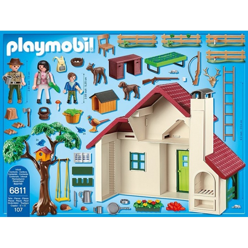 Playmobil 6811 domek le niczego sklep zabawkowy - Casa del arbol de aventuras playmobil ...