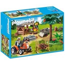 Playmobil 6814 Drwal z traktorem