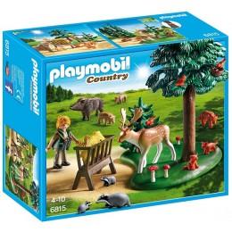 Playmobil 6815 Polanka z karmą dla zwierząt