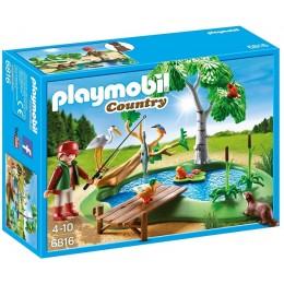 Playmobil 6816 Staw z wędkarzem