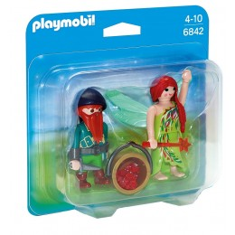 Playmobil 6842 Duo Pack Elf i krasnal