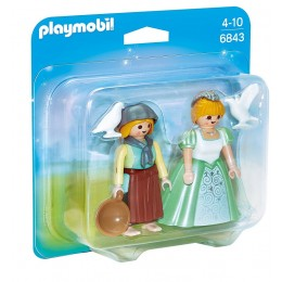 Playmobil 6843 Duo Pack Księżniczka i służebna