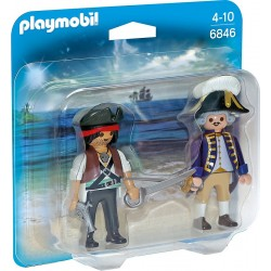 Playmobil 6846 Duo Pack Pirat i żołnierz