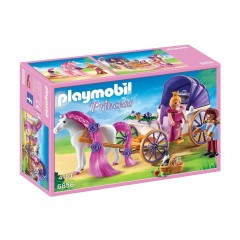 Playmobil 6856 Princess - Para królewska z karetą