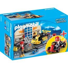 Playmobil 6869 City Action Warsztat gokartowy