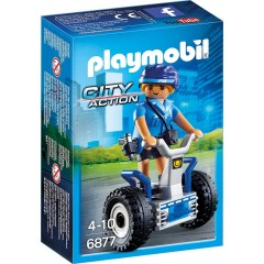 Playmobil 6877 City Action Policjantka na Balance-Racer