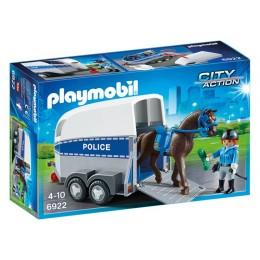 Playmobil 6922 City Action - Jednostka konna z przyczepką