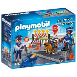 Playmobil 6924 City Action - Blokada policyjna