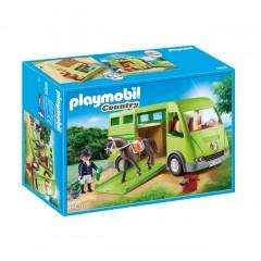 Klocki Playmobil 6928 Country - Pojazd do przewozu koni