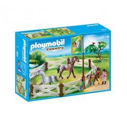 Klocki Playmobil 6931 - Country - Wybieg dla konia