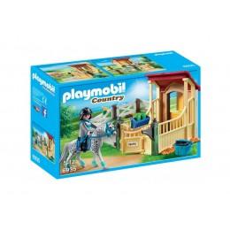 Klocki Playmobil 6935 Country - Boks stajenny dla konia Appoloosa