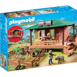 Playmobil 6936 Wild Life - Domek rangera z hodowlą zwierząt