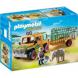 Playmobil 6937 Wild Life - Terenówka rangera z przyczepą