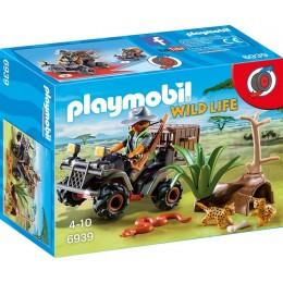 Playmobil 6939 Wild Life - Kłusownik z quadem