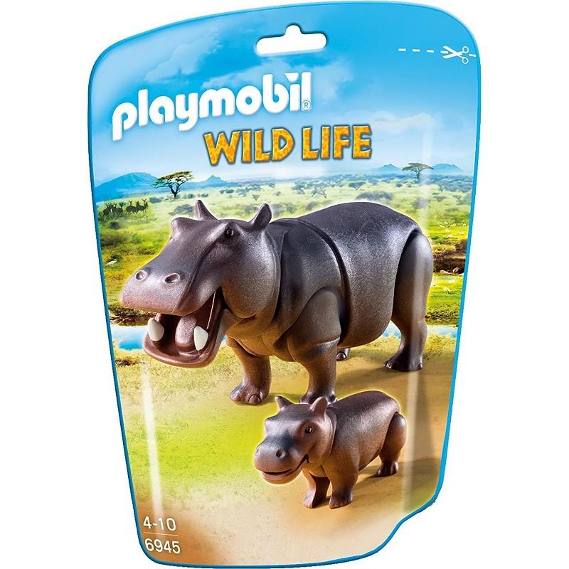 playmobil wild life hipopotamy 6945 sklep zabawkowy. Black Bedroom Furniture Sets. Home Design Ideas