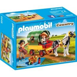 Playmobil Country Wycieczka bryczką kucyków 6948
