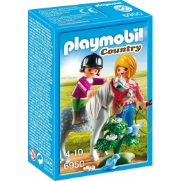 Playmobil Country Spacer z kucykiem 6950