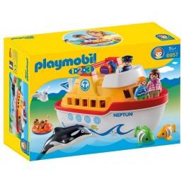 Playmobil Klocki 1-2-3 6957 Mój przenośny statek