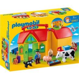 Playmobil 1-2-3 Moje przenośne gospodarstwo rolne 6962