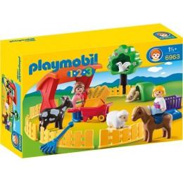 Playmobil 1-2-3 Małe Zoo 6963