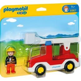 Playmobil 1-2-3 Wóz strażacki z drabiną 6967