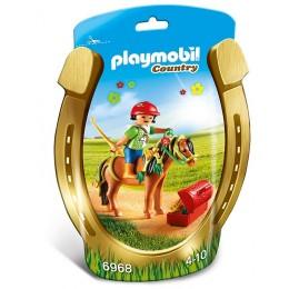 Playmobil Country Kucyk z ozdobą – Kwiatuszek – 6968
