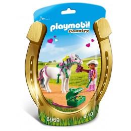 Playmobil Country Kucyk z ozdobą – Serduszko – 6969