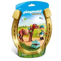 Playmobil Country Kucyk z ozdobą – Motylek – 6971