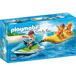 Playmobil 6980 Family Fun - Jet ski z bananową łódką