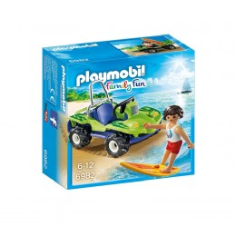 Playmobil 6982 Family Fun - Surfer z pojazdem buggy