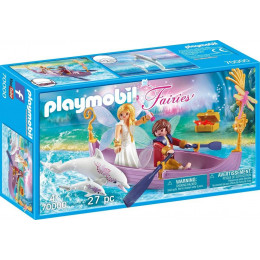 Klocki Playmobil Wróżki 70000 Romantyczna łódka wróżek
