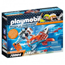 Playmobil 70004 – Top Agents – Pojazd podwodny z napędem