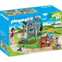 Playmobil 70010 – Superset – Rodzina w ogrodzie