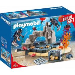 Playmobil 70011 – Super Set – Akcja jednostki płetwonurków