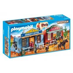 Playmobil Western 70012 - Przenośne miasteczko westernowe