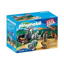 Playmobil Starter Pack 70036 - Bitwa rycerzy o skarb