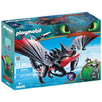 Playmobil 70039 Dragons Jak wytresować smoka - Śmierciozaur i Grimmel