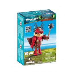 Playmobil 70043 Dragons Jak wytresować smoka - Sączysmark w zbroi do latania