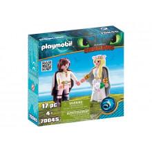 Playmobil 70045 Dragons Jak wytresować smoka - Młoda para Astrid i Czkawka