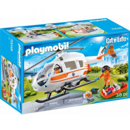 Playmobil City Life 70048 Helikopter ratunkowy